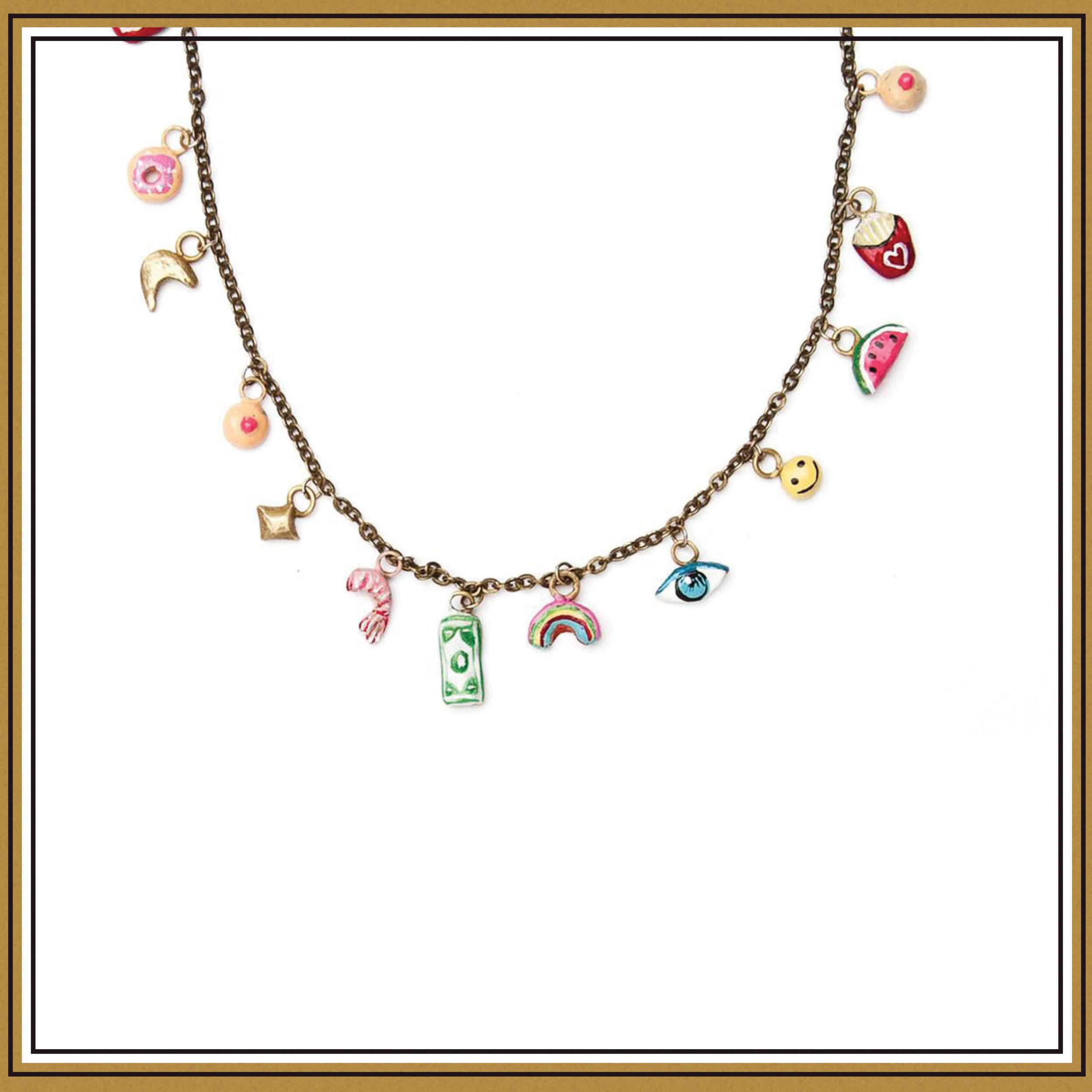 Susan Alexandra Tiny Joys Necklace ($138)