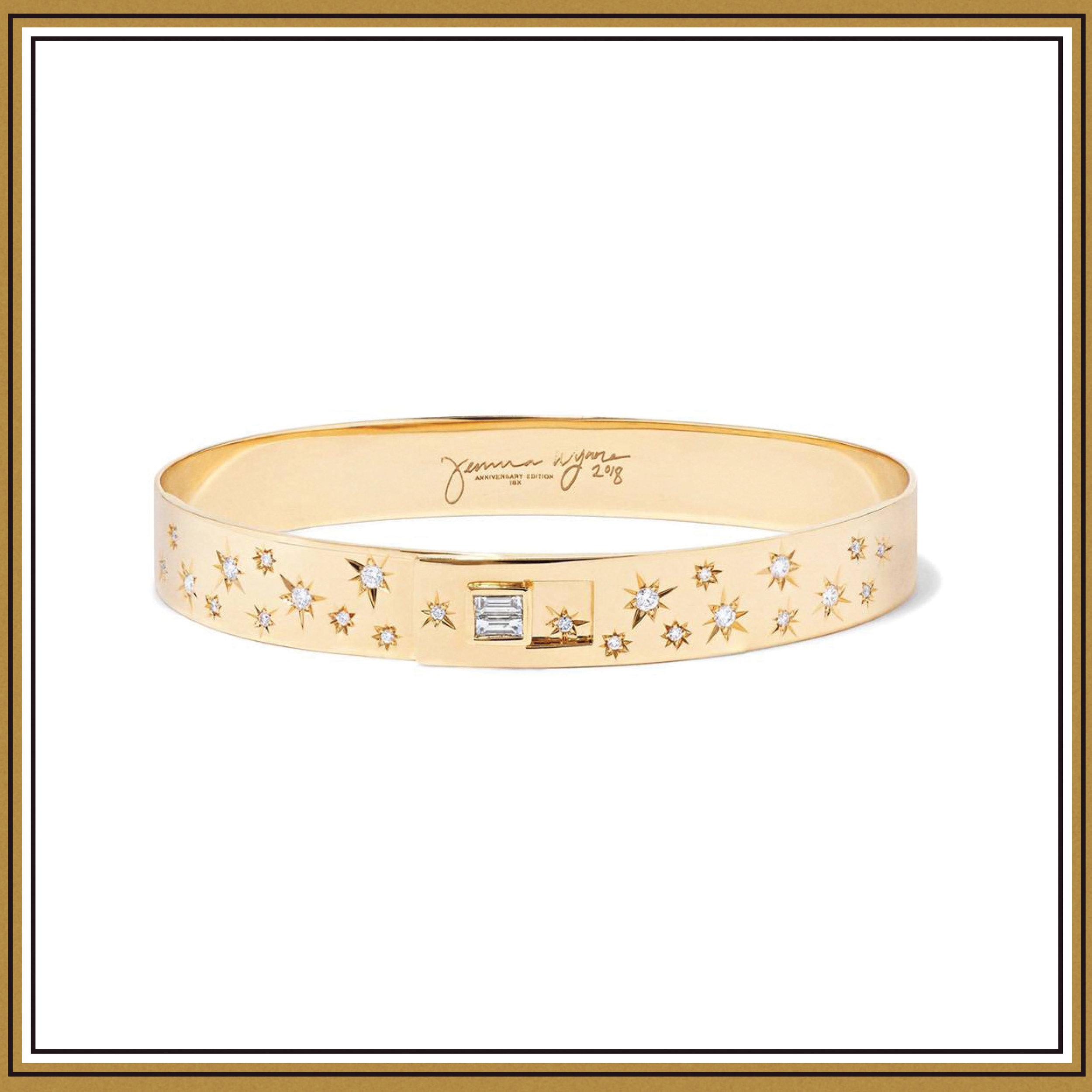 Jemma Wynne 18-Karat Gold Diamond Bracelet ($8925)
