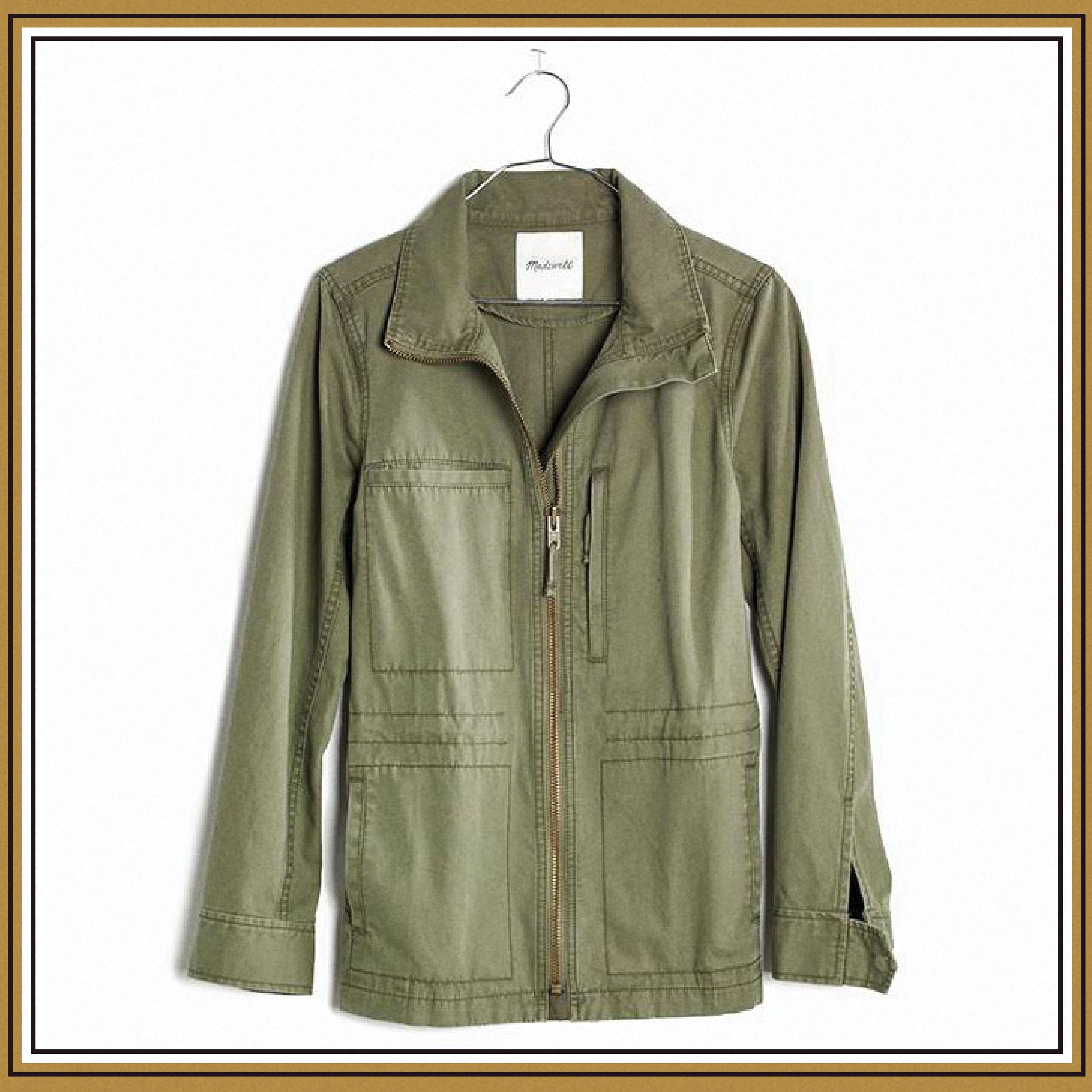 Madewell Fleet Jacket, $118
