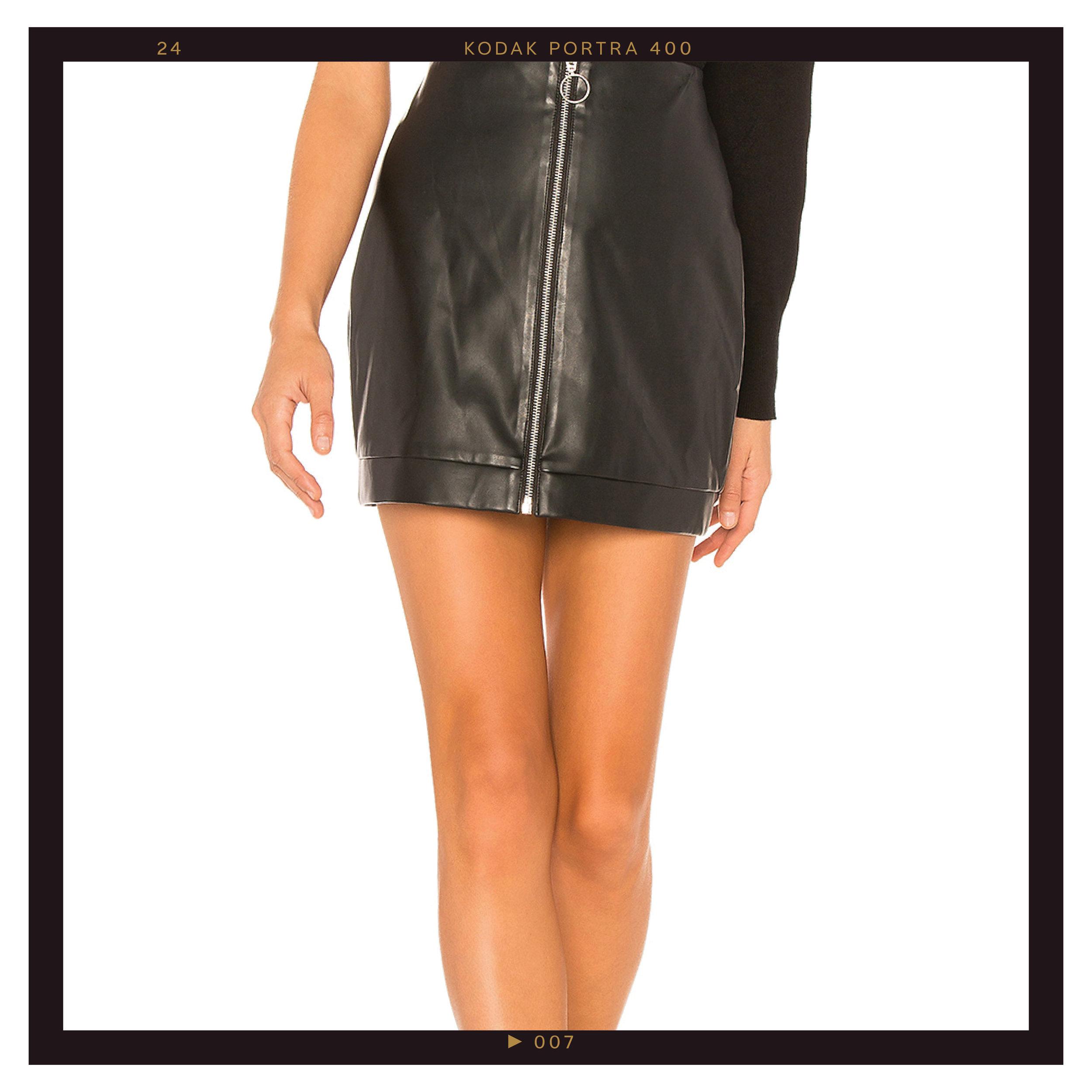 Lovers & Friends Ashton Mini Skirt, $58