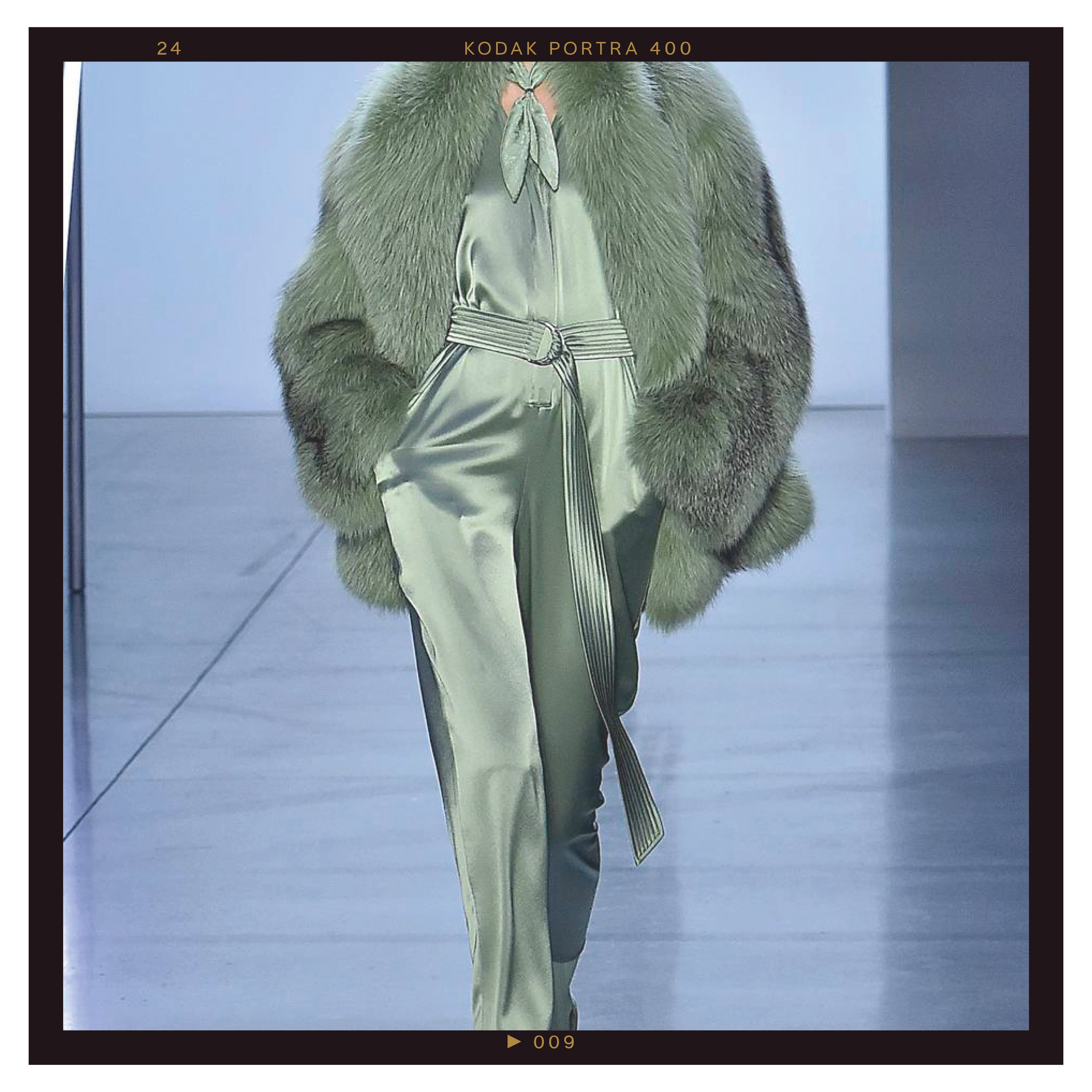 Head-to-Toe Pistachio - Shades of minty green and sage have already been making their mark this spring and summer, but expect to see the color blow up by the time fall rolls around. Designers showed off head-to-toe pistachio looks, which felt modern and refreshing.