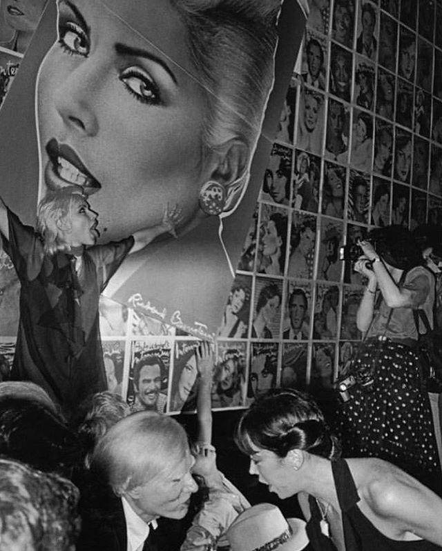 """MADHATTAN. """"Blondie, Warhol Studio 54"""", ©Jill Freedman,1978. All rights reserved. #jillsmadhattan"""