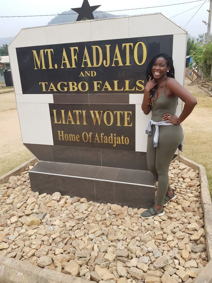 Hiking Mount Afadjato