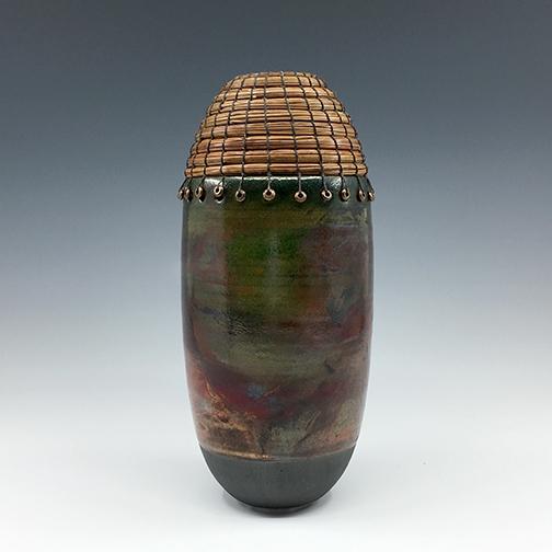 raku bullet vase