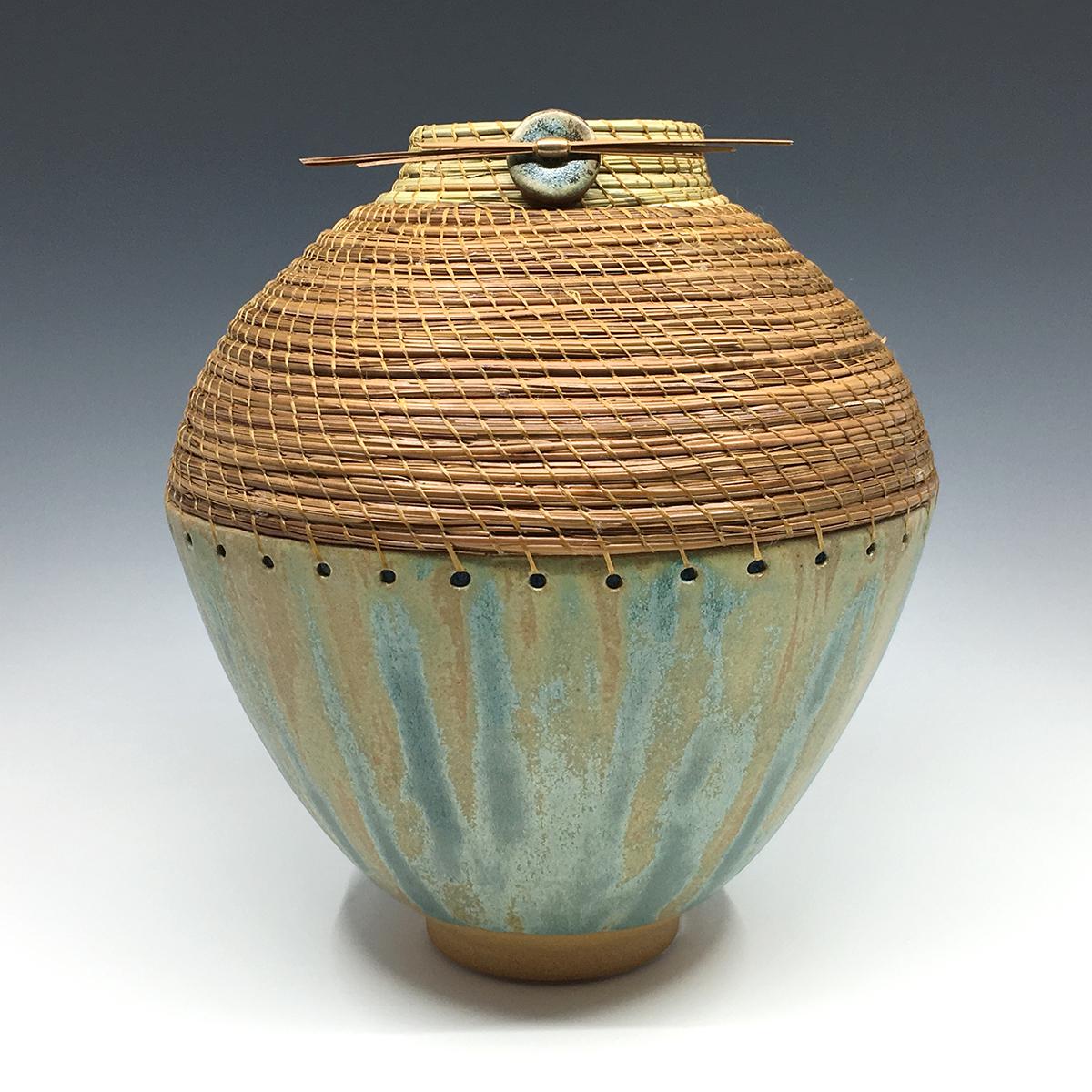 Two-tone large vase