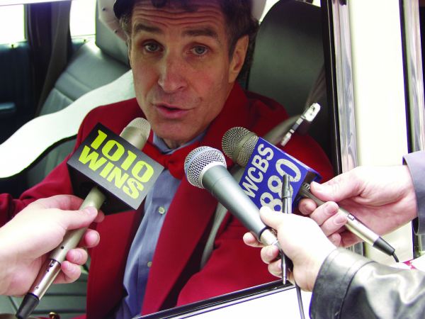 New York's savviest cabbie, Johhny Morello, talking to the New York press about, um, New York.