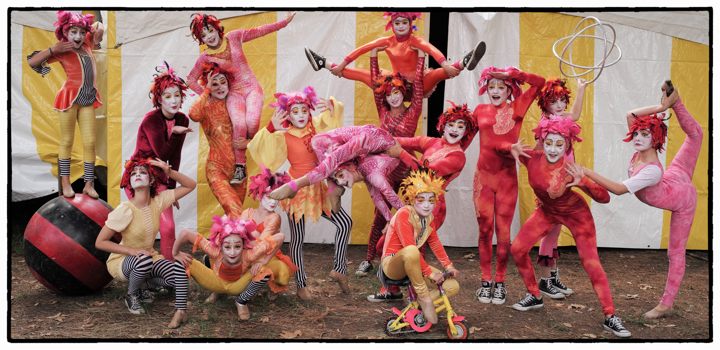 Le Petit Cirque at Israeli-American Festival (2015)