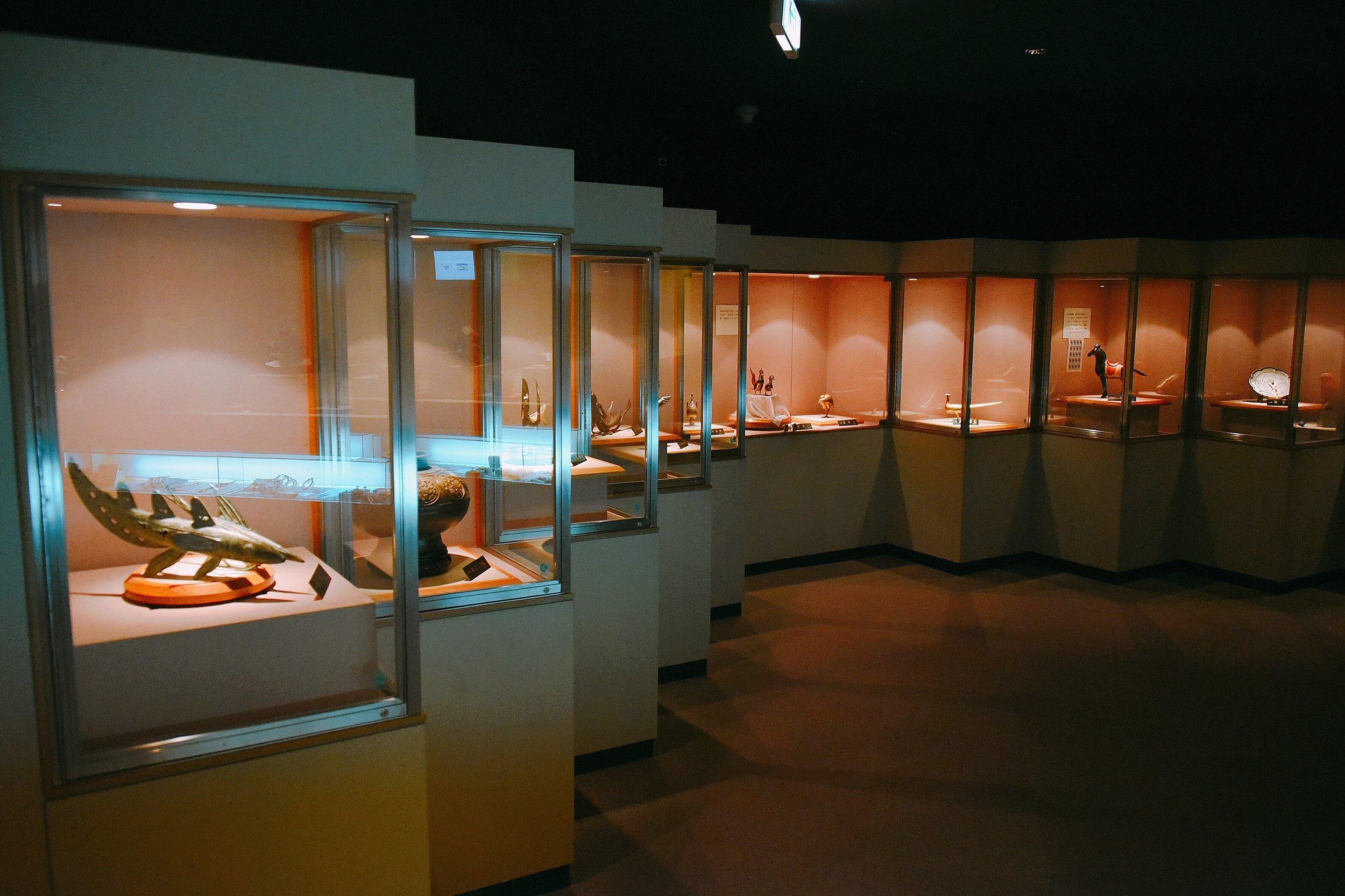 佐渡歴史伝説館 展示