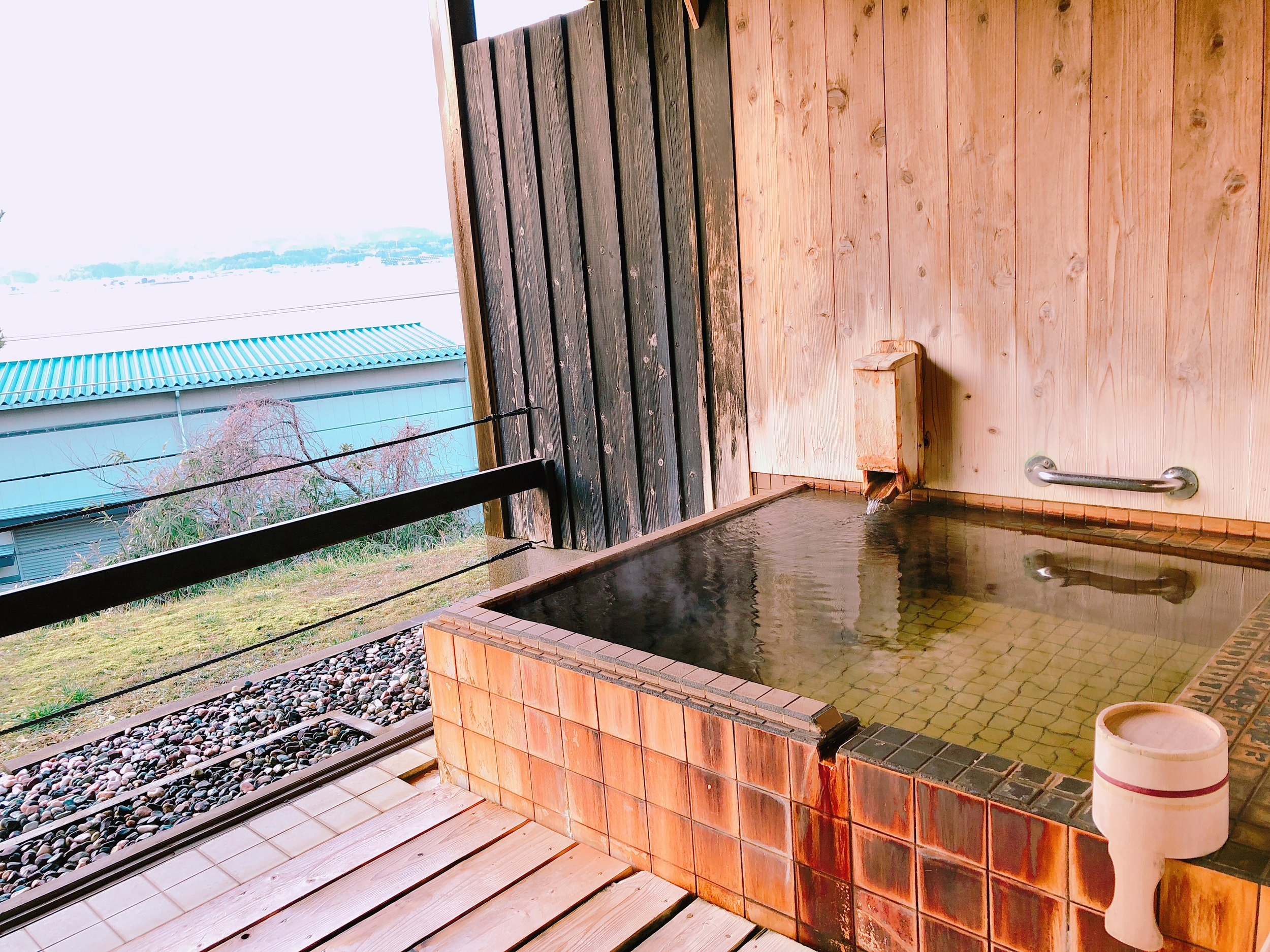 個室貸切露天風呂「湯楽長屋(ゆらくながや)」