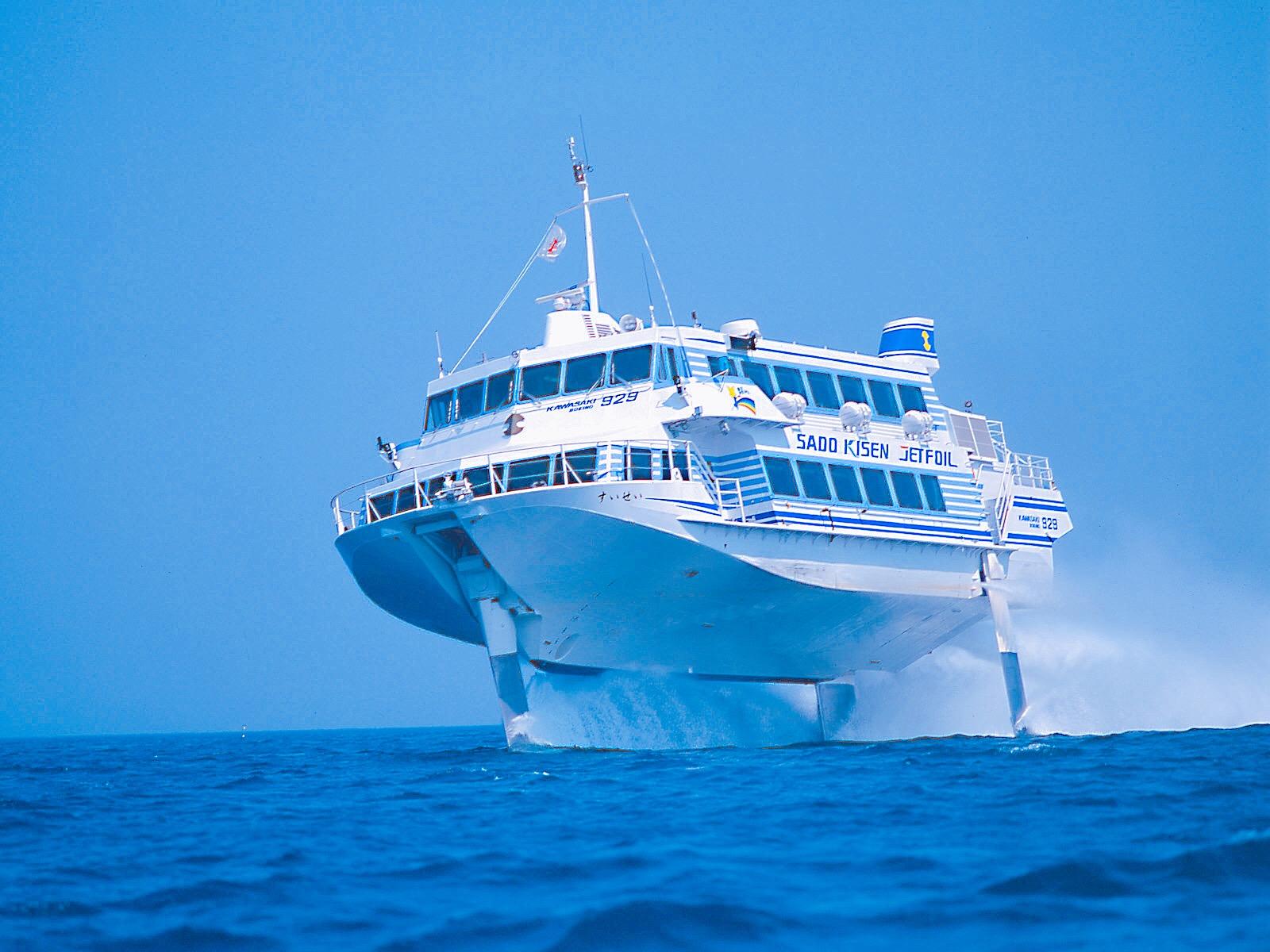 佐渡 汽船 ジェットフォイル 佐渡汽船公式サイト 佐渡汽船の公式情報を提供しています。