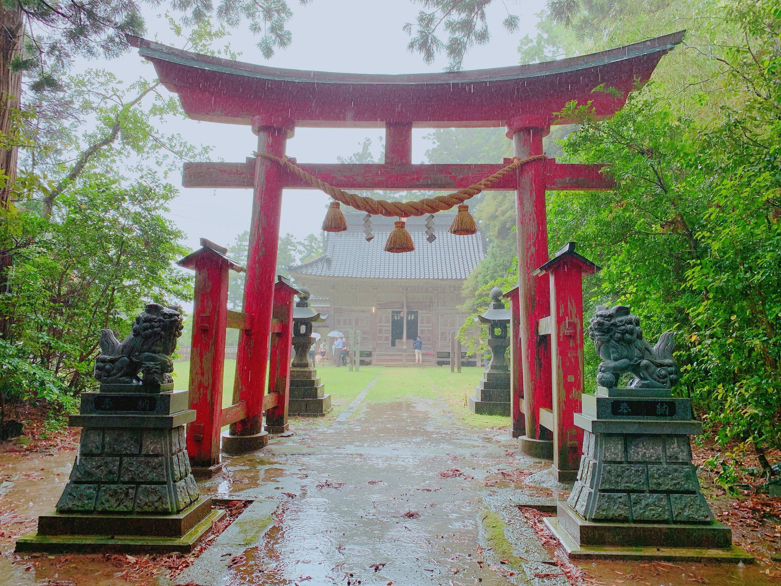 大膳神社の鳥居
