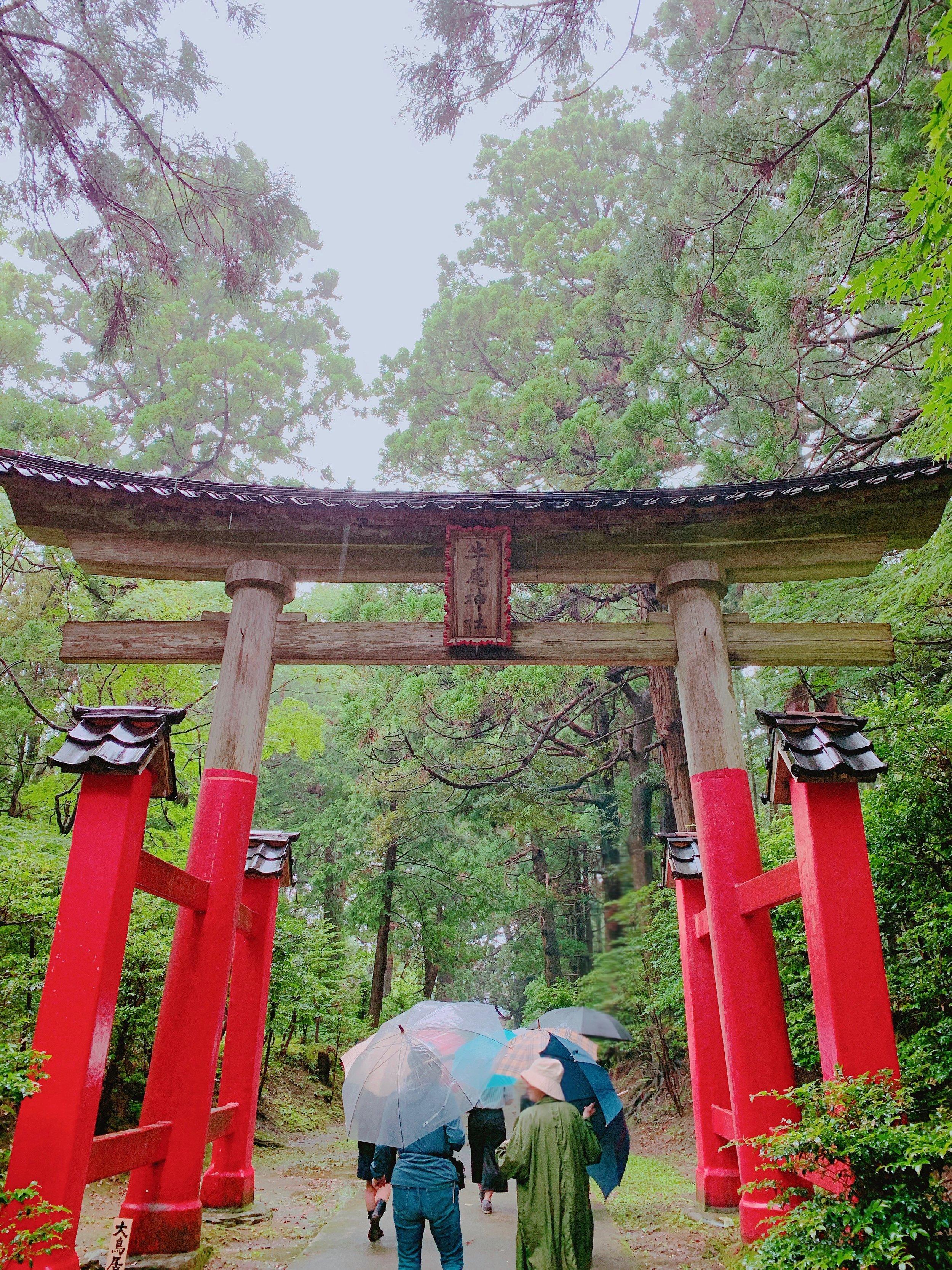 牛尾神社の大鳥居