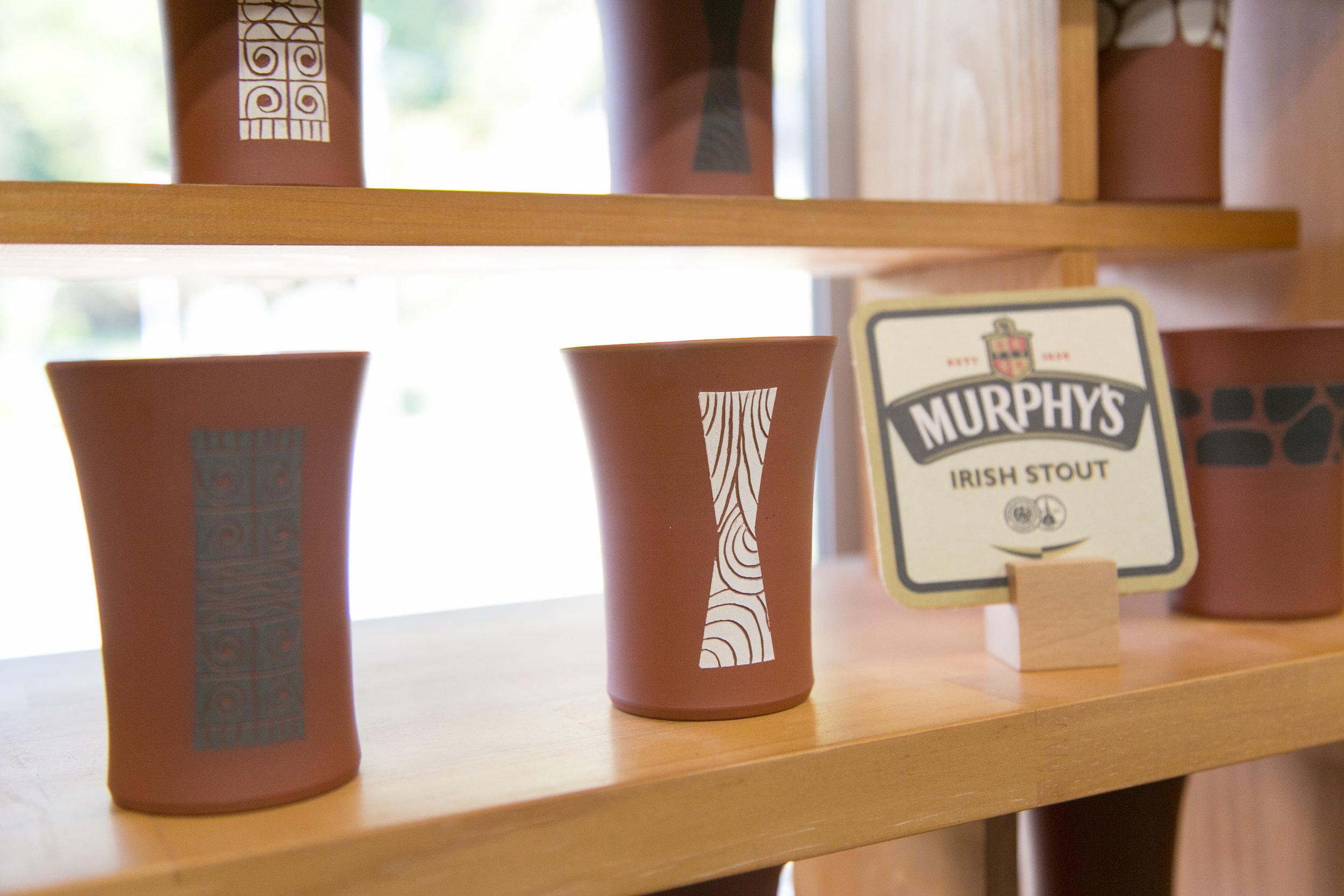 おしゃれなデザインのカップ