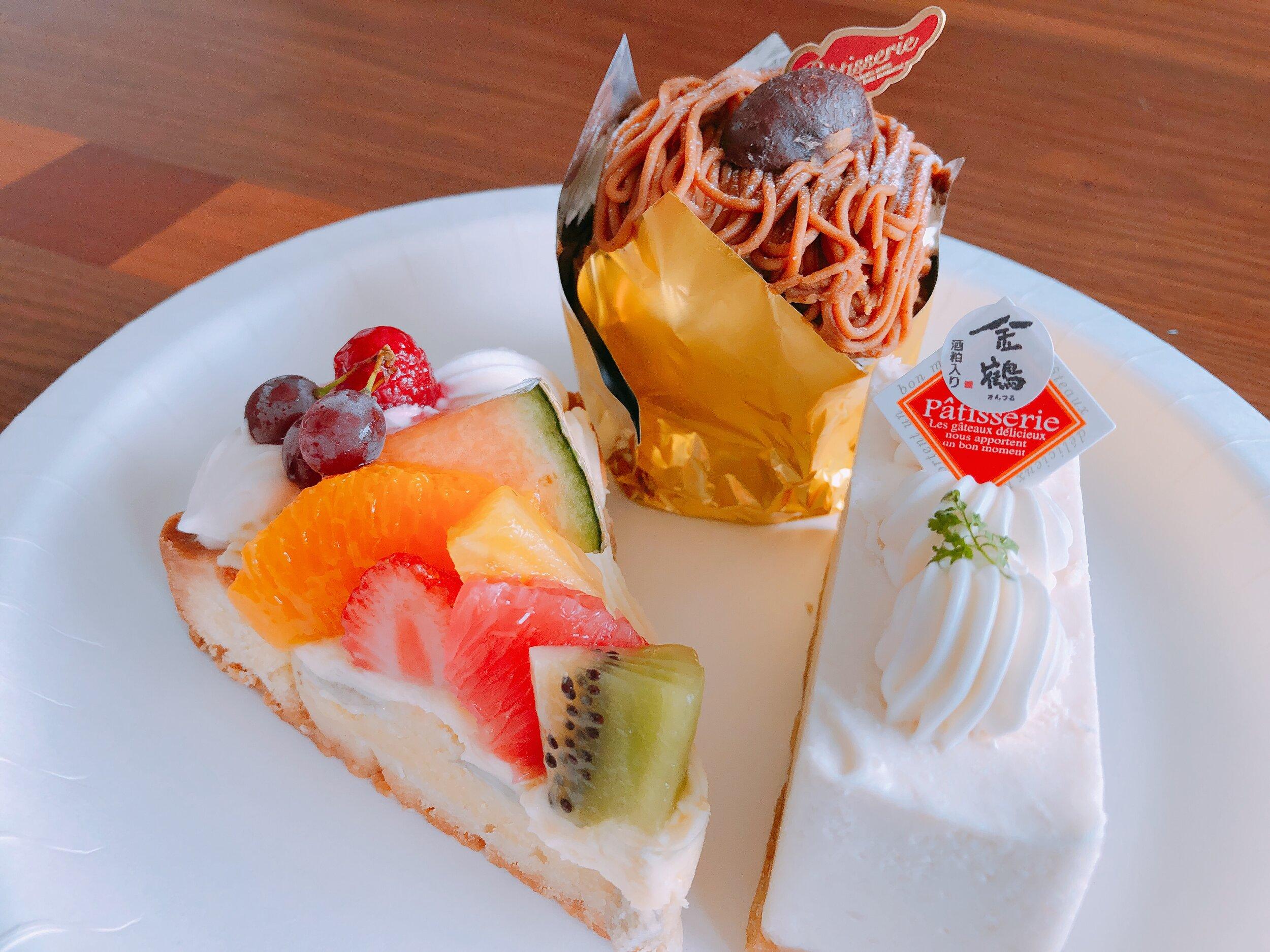 「モンブラン」のケーキ