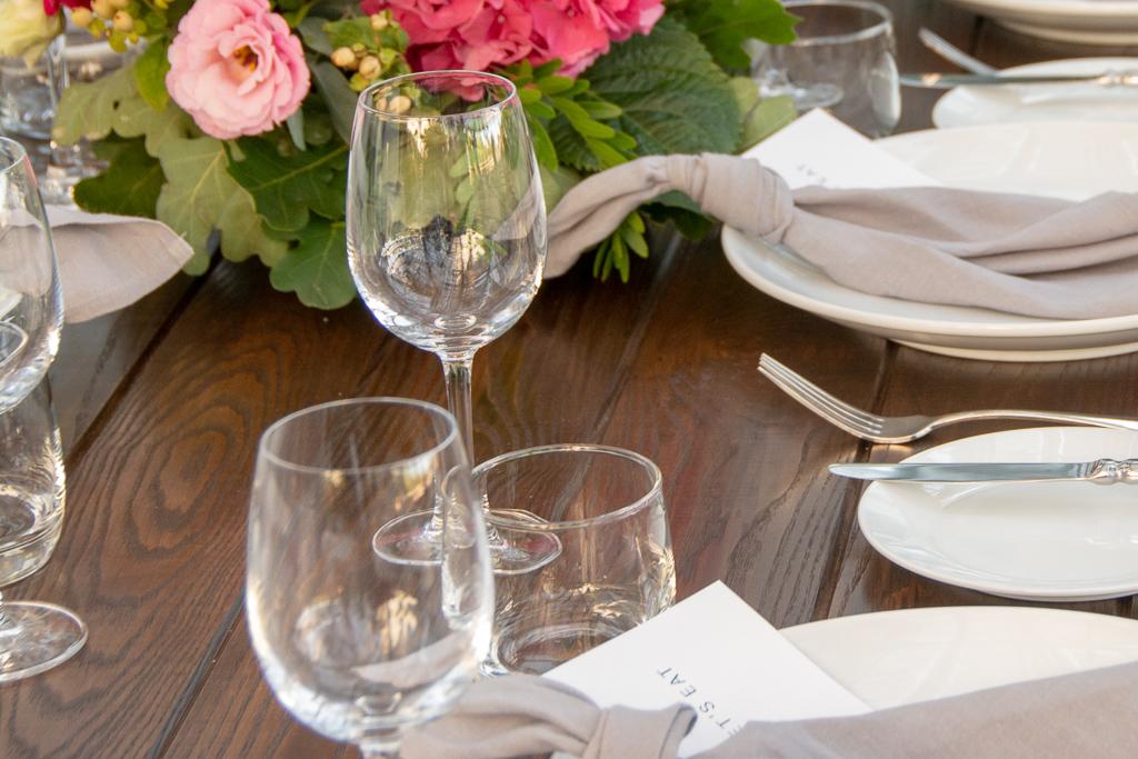 glassware hire wellington