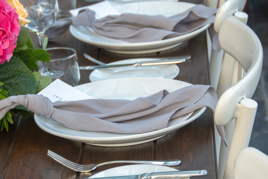 Linen napkins for hire