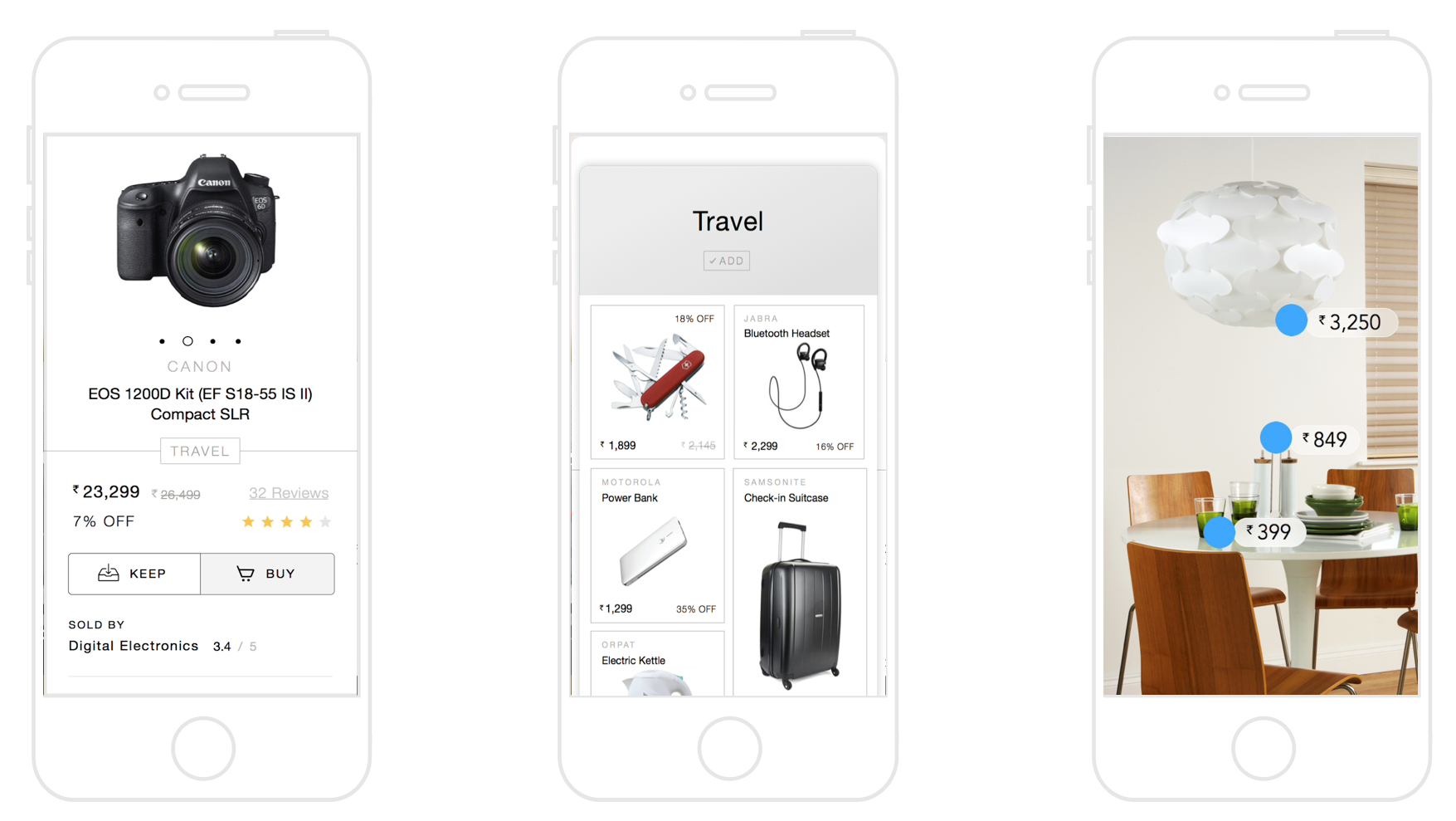 Product Page, Network of Things & Stories