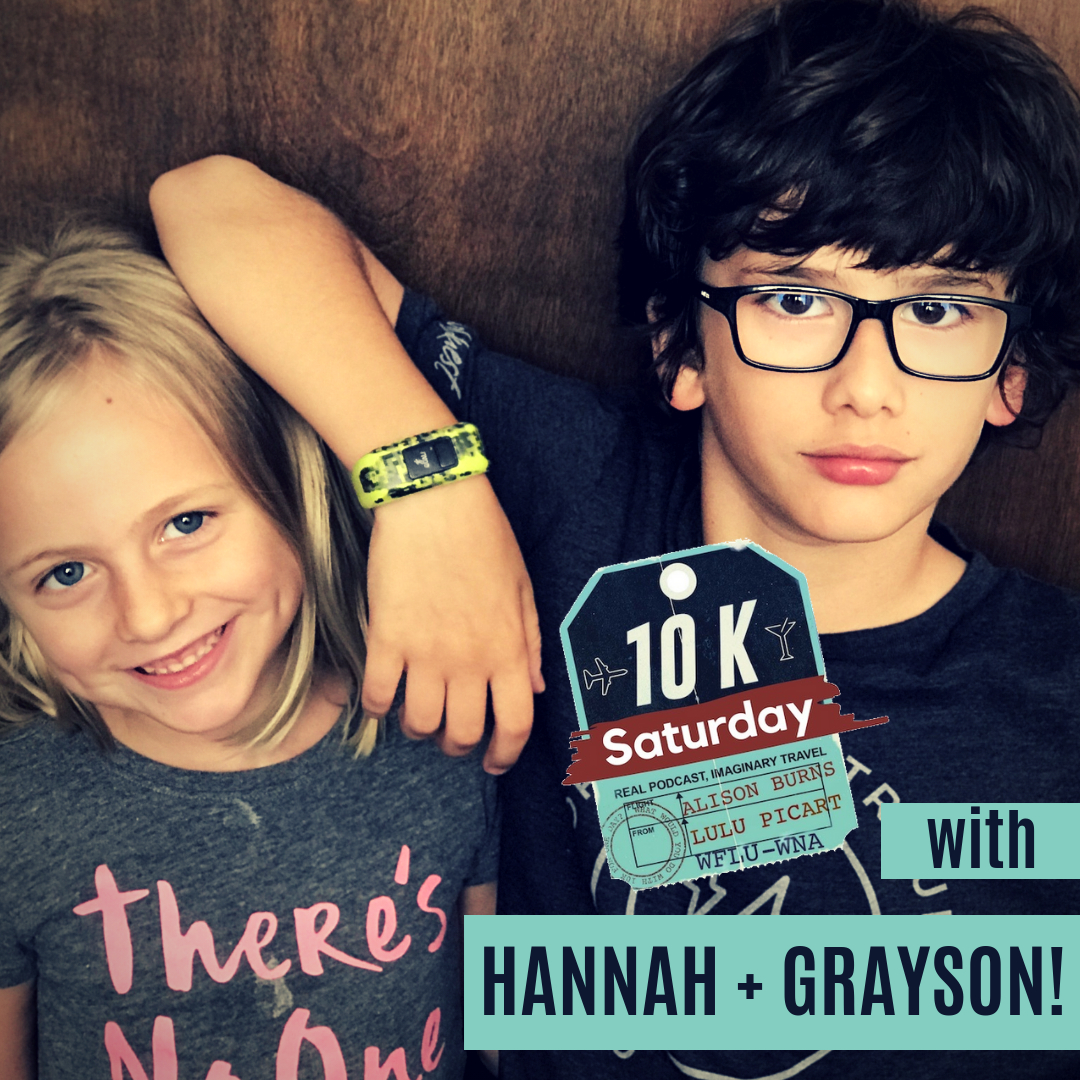 10K Saturday with Hannah Jackson and Grayson Melis!