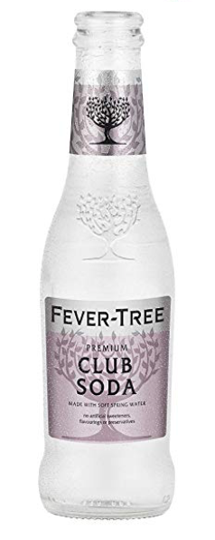 Fever Tree Club Soda 24 Pack from Amazon.com