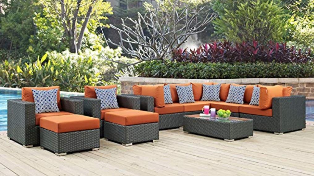 America Luxury Modern Outdoor Sectional on Amazon.com