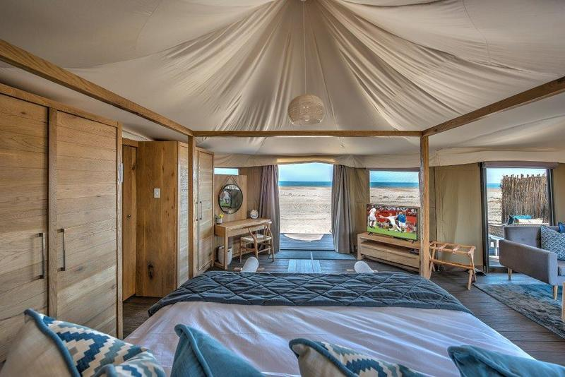 Kingfisher Lodge, Sea View Tent