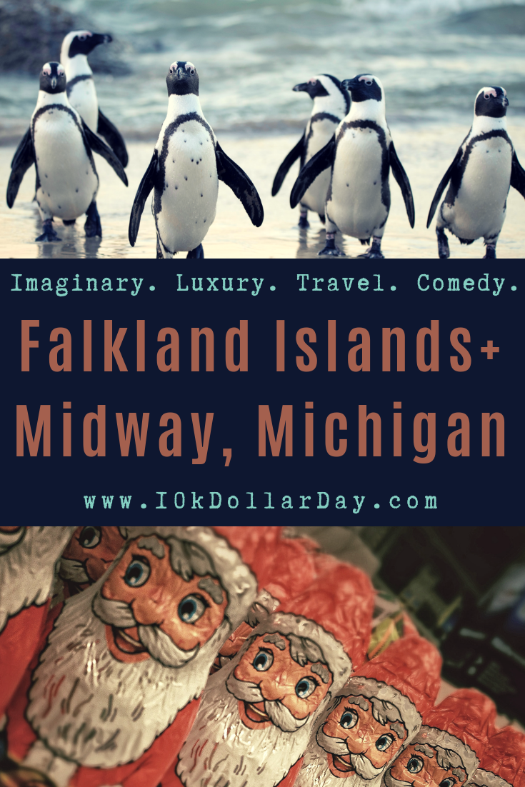 10K Dollar Day in Falkland Islands + Midway, Michigan