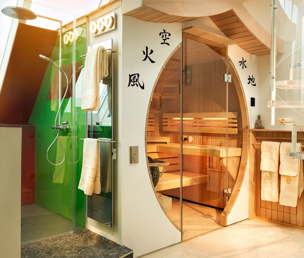 House of Time Boutique Hotel in Vienna, Love Boat in Saigon Suite - In-Suite Sauna