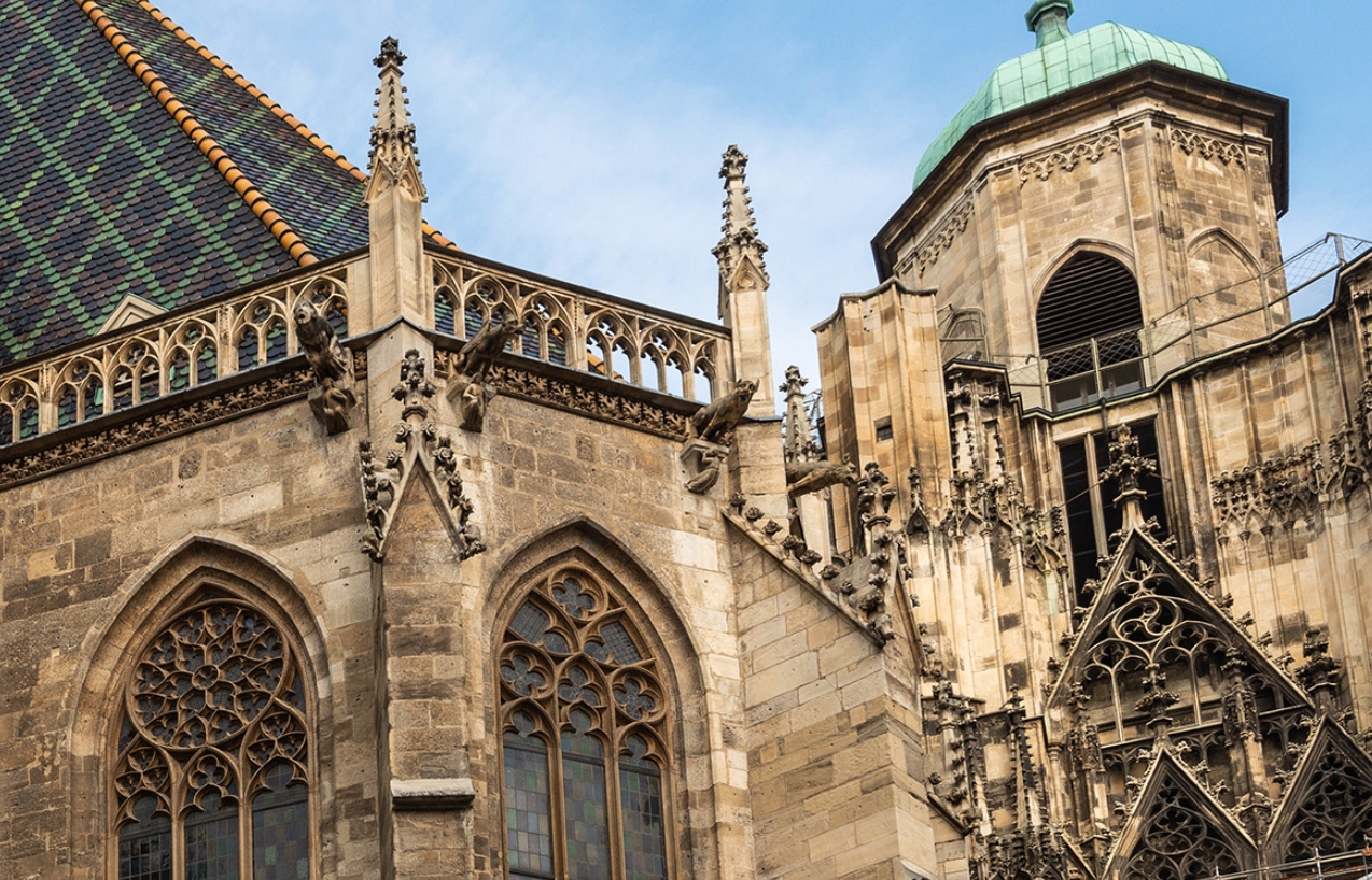 The North Tower of St. Stephan's Cathedral - Vienna, Austria