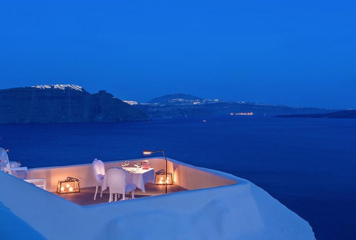 Panorama Balcony Experience at Canaves Oia - Santorini