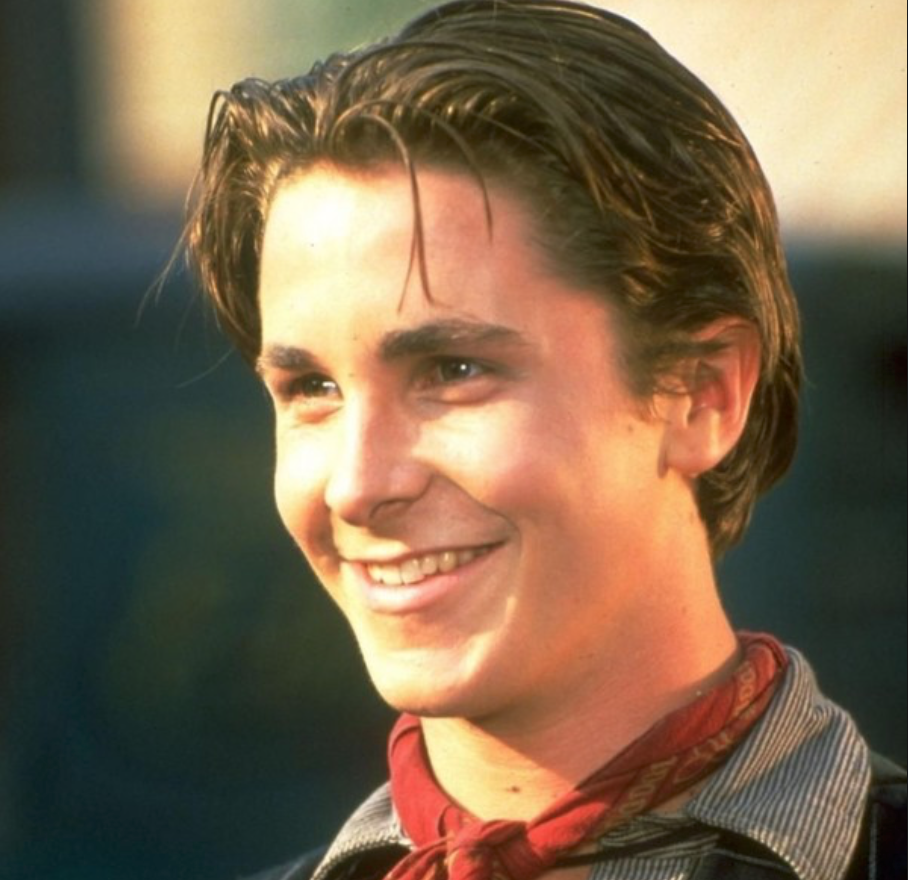 Young Christian Bale in Newsies