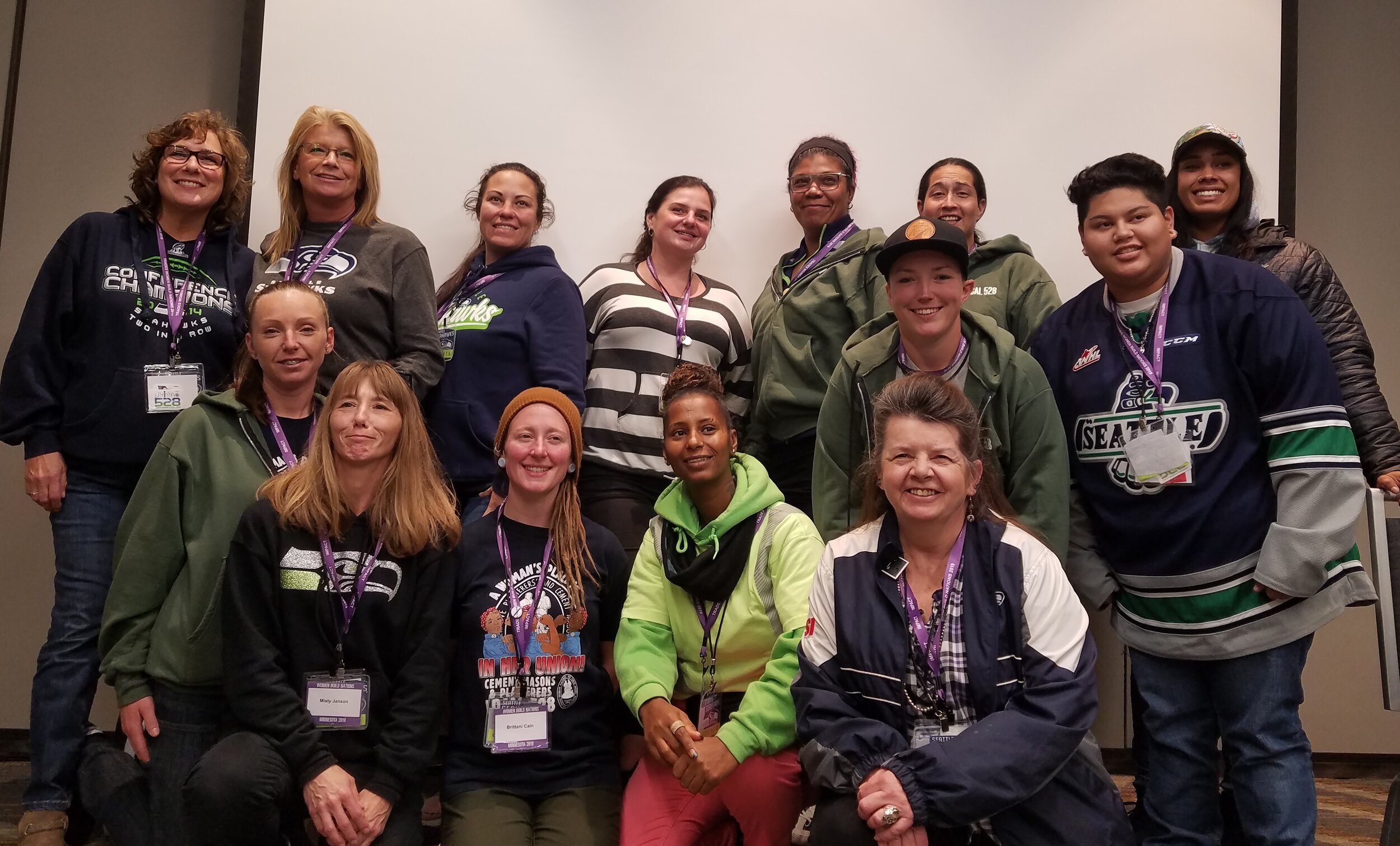 Tradeswomen Build Nations - 2019 - 2700 Women attended the Tradeswomen Build Nations Conference in Minneapolis this year, an event that is increasing in numbers every year. 25 women from the OPCMIA attended with 15 of them attending from Seattle. Other locations included, California, Portland, Boston, Chicago, Peoria, Milwaukee and, of course, Minneapolis.Over the course of the 3-day event, there were 3 workshop sessions to attend. The main conference had the perfect number of speakers, including Sean McGarvey, President of NABTU and Vicki O'Leary, Chair of the NABTU Tradeswomen Committee.This trip was launched with Sisterhood and shared experience in mind. It is always overwhelming and exciting to see so many tradeswomen, some familiar, but mostly new attending an event like this. We discussed recruiting and retention for women as well as, some of the challenges that still lay ahead.I'd like to thank the membership for allowing me the opportunity to represent our Local Union and the OPCMIA at this important conference.Marilyn KennedyJourneyman Cement MasonLocal 528