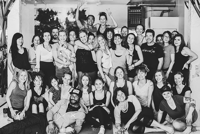 HOLY SHIT!! ITS A WRAP PEOPLE!!! Temple+Tribe as we know it will never again be the same. Hoooly moly! Last class rocked the house today. So grateful for everyone who showed up to sweat their support. —- COME HELP US MOVE TUES-THURS THIS WEEK!! So fun! We swear. — Stay tuned here to get the happs on TRIBECLUB underground barre classes starting in July and the new beast being birthed in the fall...😍🤩😍 —- Love you love you love you TRIBE!! Cannot put into words what a magic incredible amazing community you are and how many lives have been touched by these people here (and many many not pictured). — Insanely beautiful pics by @sarahkathrynw THANK YOU SARAH!! ❤️❤️🤘🏽
