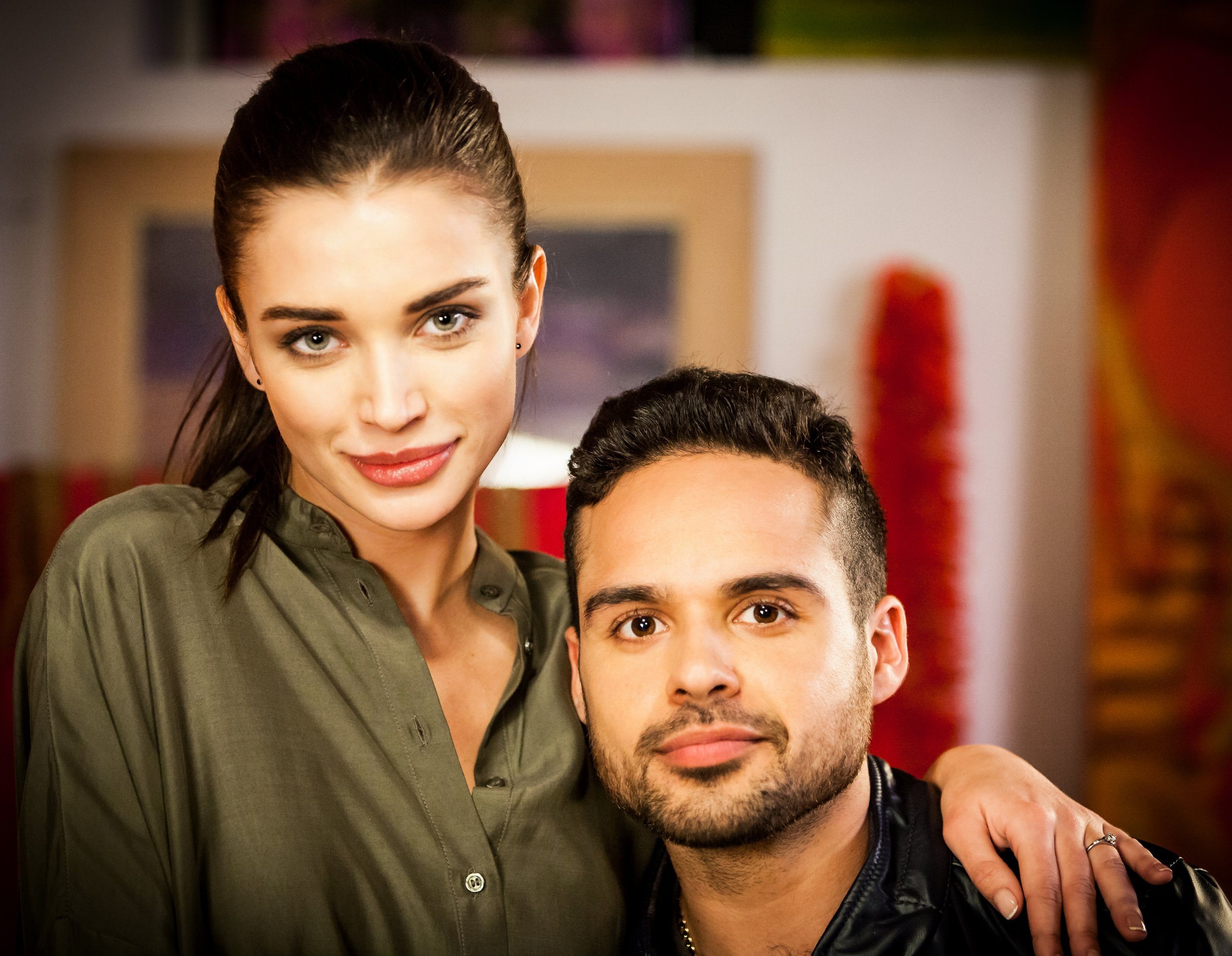 Nicholas Prasad & Amy Jackson (Actors)