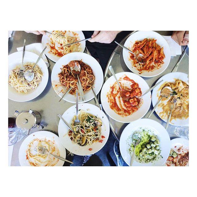 Pasta game strong 💪 . . . #sydneyeats #surryhills #surryhillsfood #surryhillseats #pasta #friendswhofeast #pastaclub #pastarecipes #freshpasta #homemadepasta #italiancooking #recipeblogger #italianfoodbloggers #italianfoodporn #iwantpasta #gnocchi #spaghetti #spaghetticarbonara #pesto #ragu #spaghettialvongole