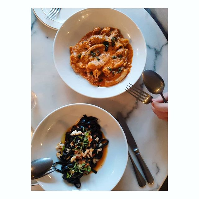 @caffebartolo is your next good reason to dress up and eat pasta 🖤 . . . #sydneyeats #surryhillsfood #surryhillseats #pastagram #iwantpasta #pastadate  #foodblogger #sydneyfoodblog #pasta #surryhills #recipeblog