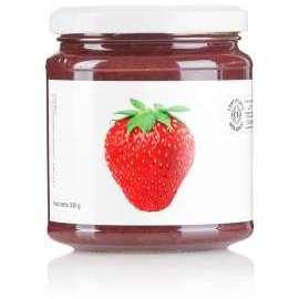 CONFETTURA EXTRA DI FRAGOLE BIO     - Descrizione: Frutto nutriente e rimineralizzante, ipotensivo, diuretico e depurativo. Fonte di nutrienti anticancro e antivirali, aiuta a prevenire le malattie cardiovascolari e a limitare la formazione dei radicali liberi.Ingredienti: fragole bio, zucchero di canna bio, succo di limone bio.