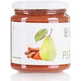 CONFETTURA DI PERE E CANNELLA - Descrizione: La pera abbinata alla cannella aiuta a regolare la percentuale di zuccheri nel sangue e favorisce la digestione. La cannella è un antisettico naturale.Ingredienti: pere bio, zucchero di canna bio, cannella bio.