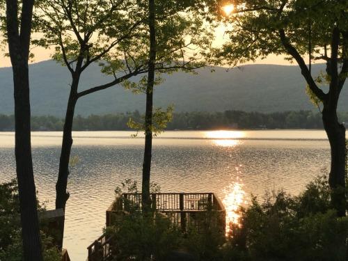 barefoot luxury sunset on the dock.jpg