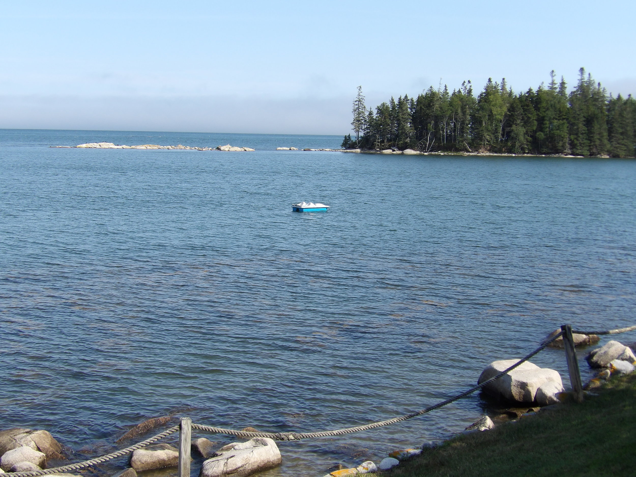Hall's Cove:The View - The Beach • The Water • Boats • Flags • Fog Sunrises • Attractions