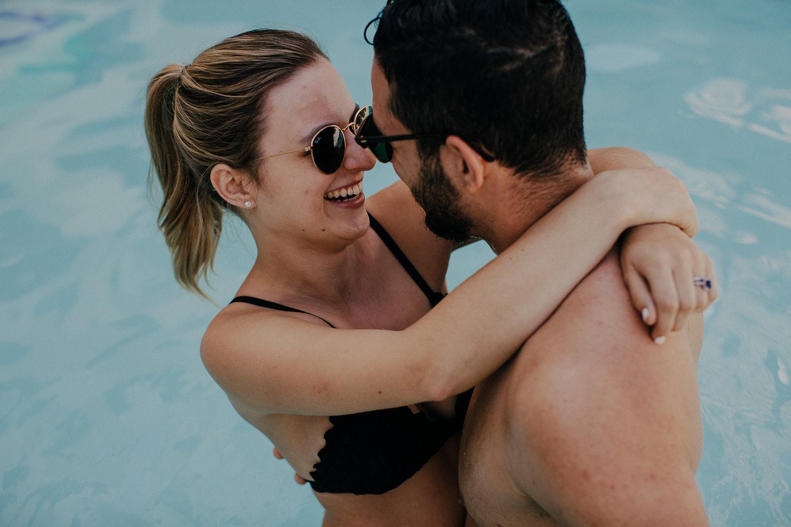 Kayla & Mickey's Poolside Love - Phoenix, AZ