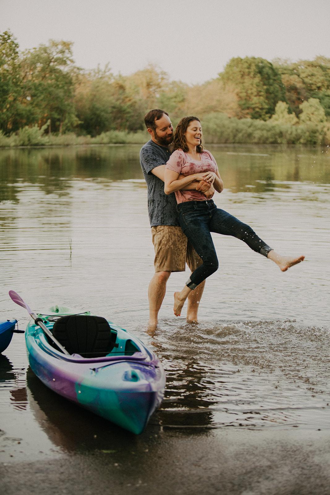 Chicago Kayak Engagement