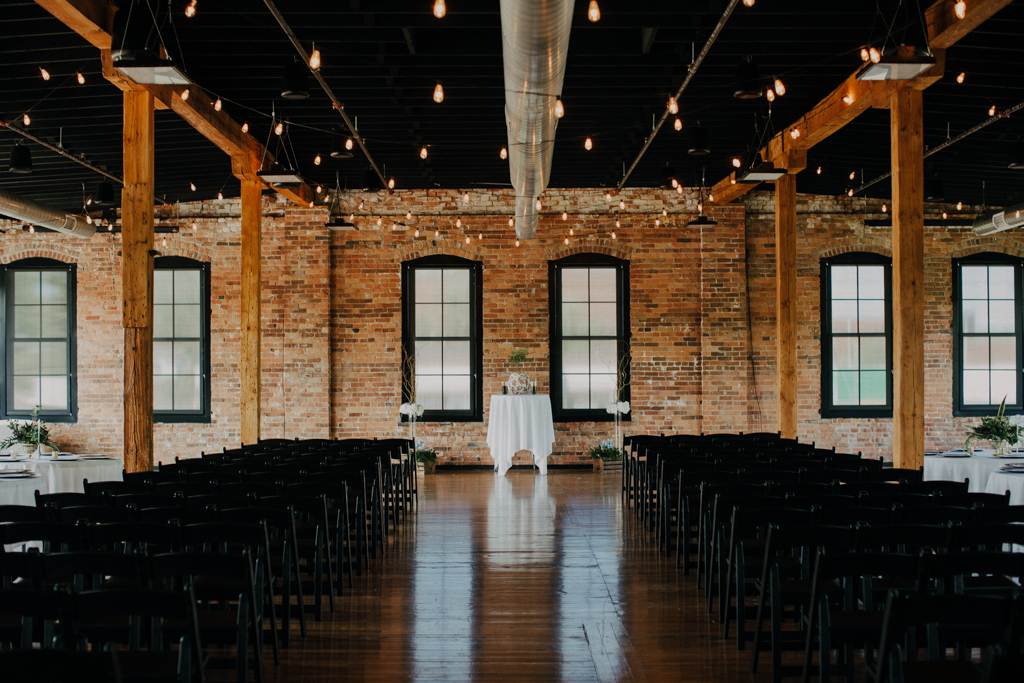 Romantic Candlelit Wedding Peoria IL