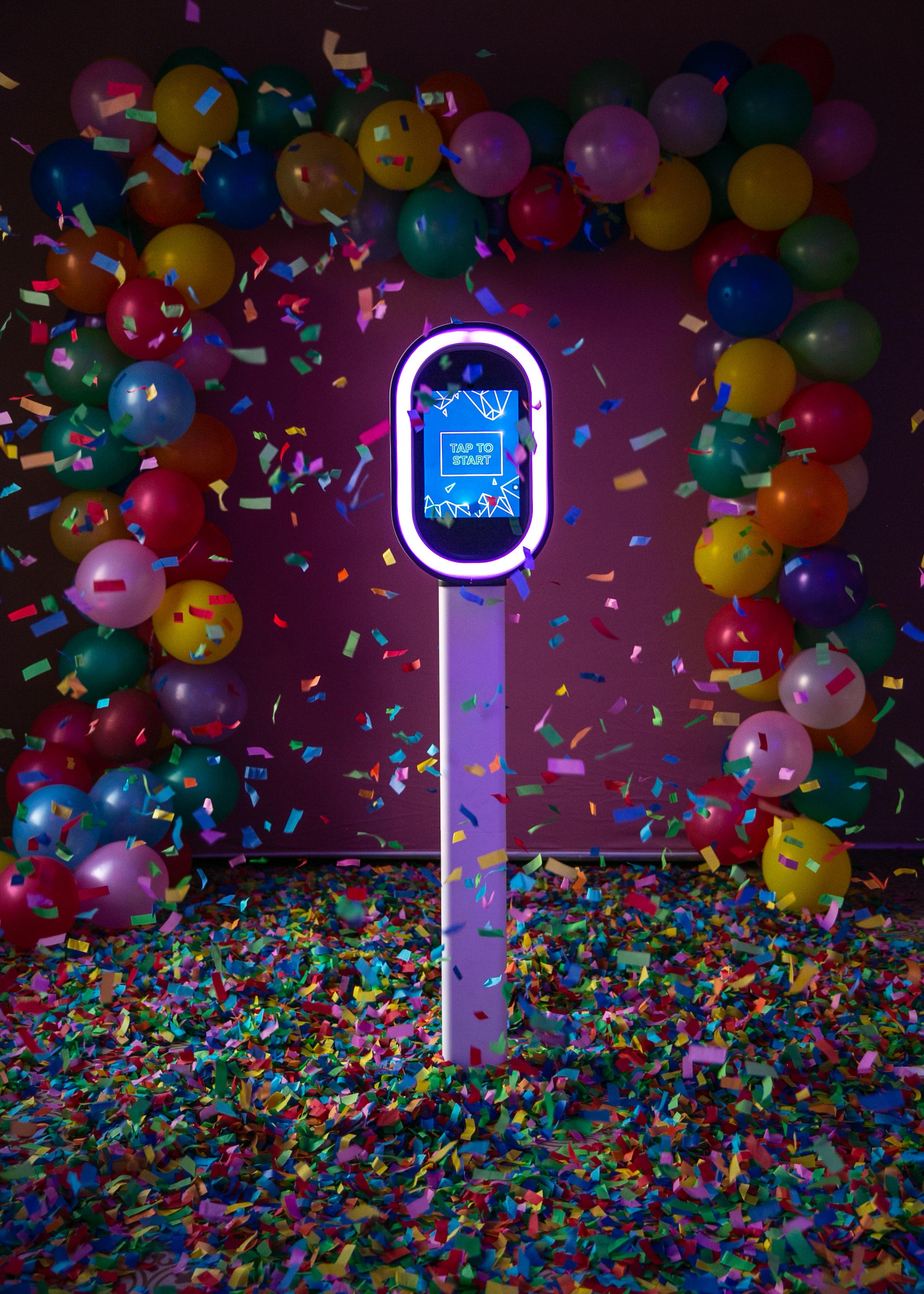 do it for the gram. - - Delivers Photos via Text, Email, or AirDrop- Customizable LED lighting to match any event- 36lbs making it easy to move- 2 Minute Assembly- No awkward attendant watching all your guests take their photos- Offers Boomerang, Photos, and Videos- Easy to use Filters- Non-exclusive, meaning, anyone can rent! Not just McKenzie Bigliazzi Clients!Check Availability Here