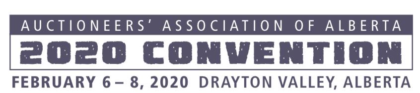 Alberta Auctioneers Association 2020 Convention
