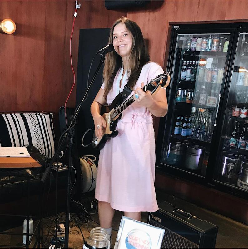 Courtney McKenna Performing at Lido Bottle Works in Newport Beach, CA
