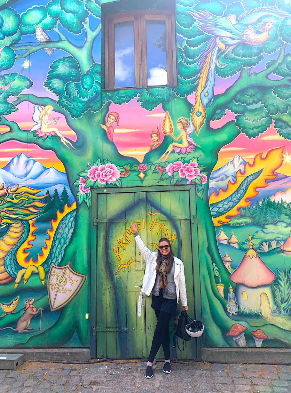 Courtney McKenna visits Christiania in Copenhagen