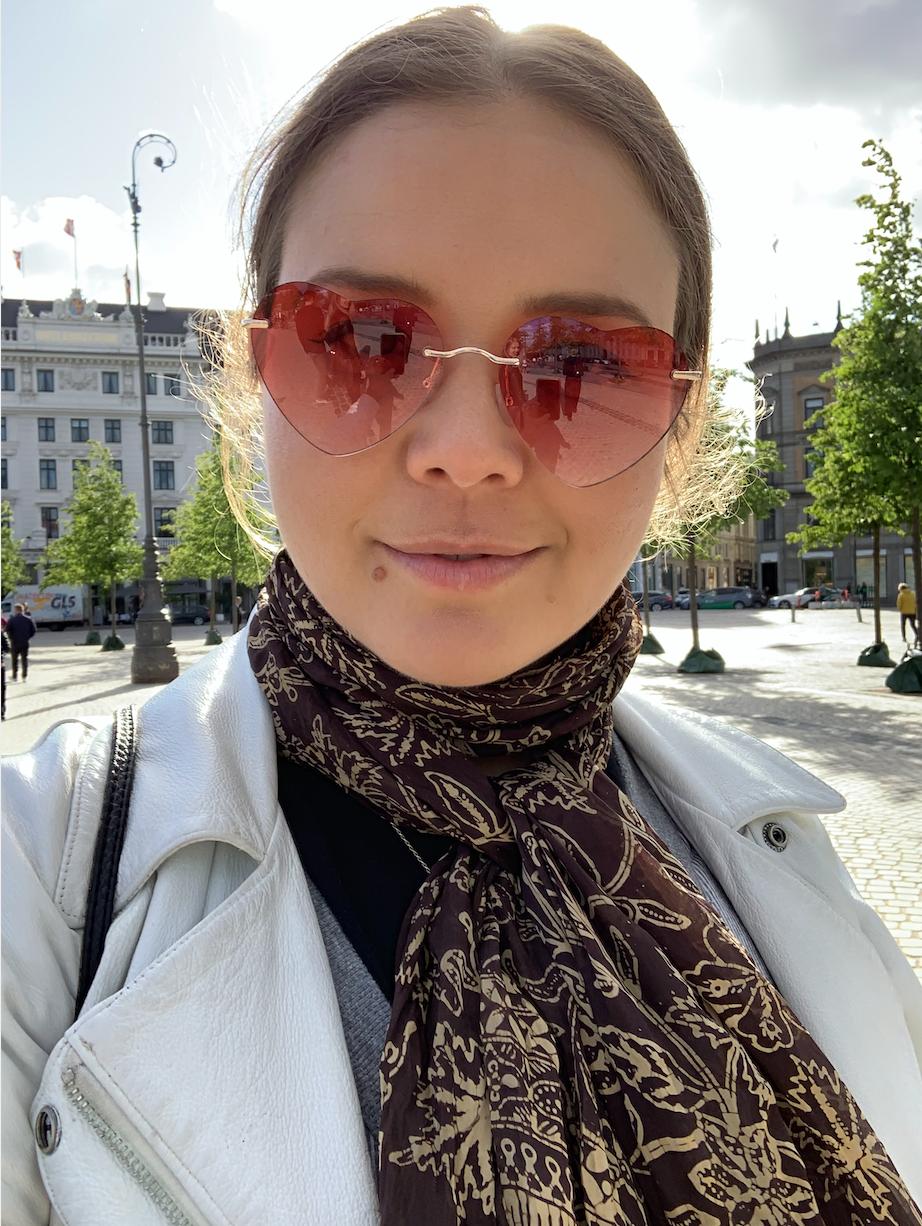 Courtney McKenna in Copenhagen