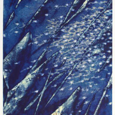 Robert Allen Cale, Wind Stream, print, 1970, 2007.1.4