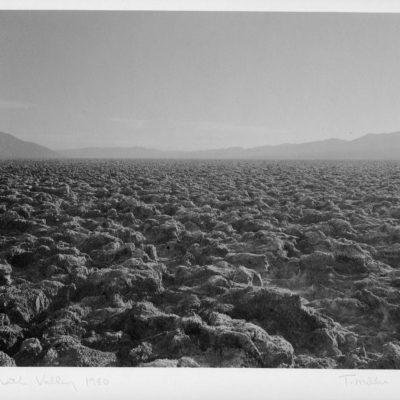 Tom Millea, Death Valley, platinum palladium print, 1980, 2003.8.1