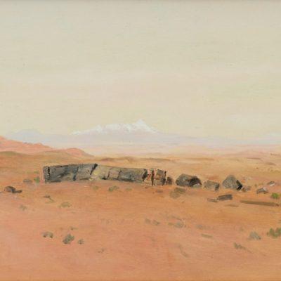Lockwood de Forest II, Petrified Forest, AZ, oil, 1909, 2003.4.1